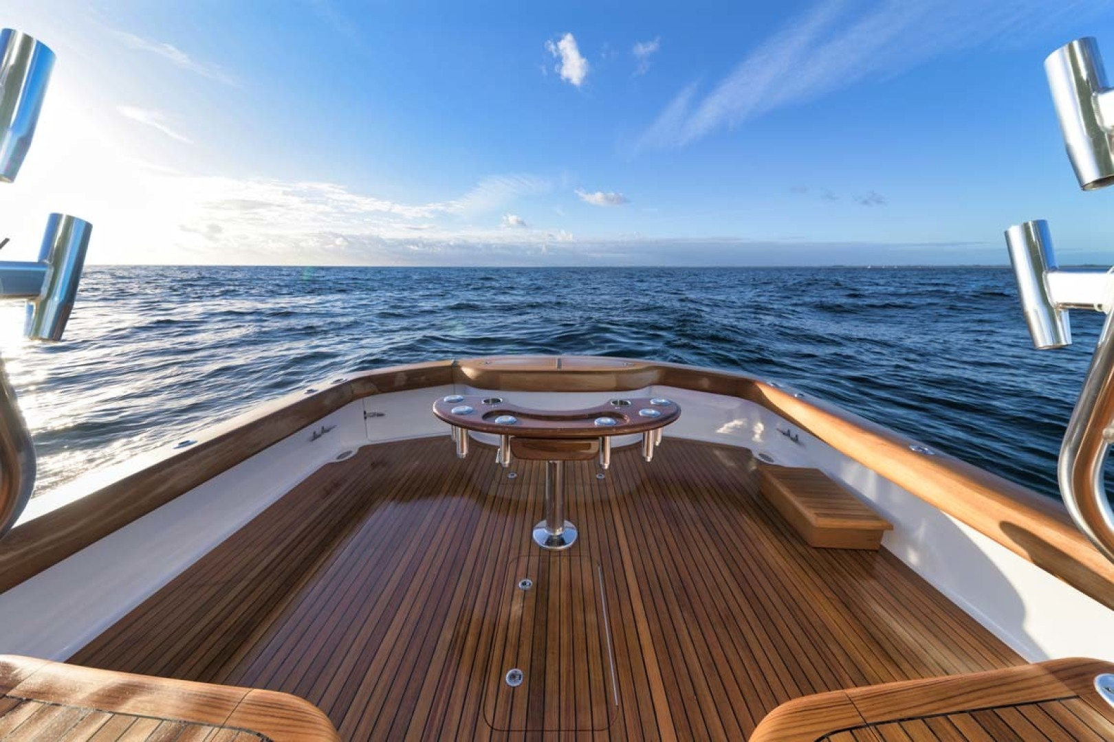 Winter Custom Yachts-46 Walkaround 2019-Family Circus Stuart-Florida-United States-Teak Cockpit Sole and Covering Boards-1563779 | Thumbnail