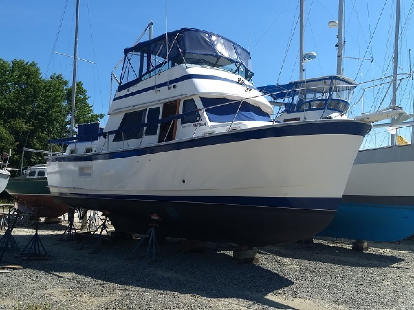 Prairie Boat Works-36 Double Cabin 1981-Possibilities Solomons Island-Maryland-United States-1564612 | Thumbnail