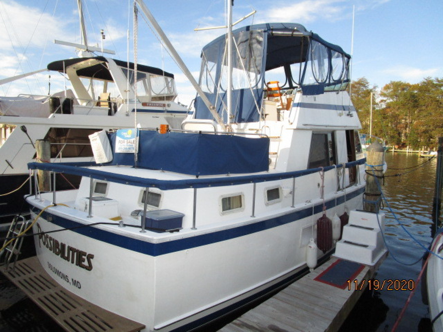 Prairie Boat Works-36 Double Cabin 1981-Possibilities Solomons Island-Maryland-United States-1564563 | Thumbnail