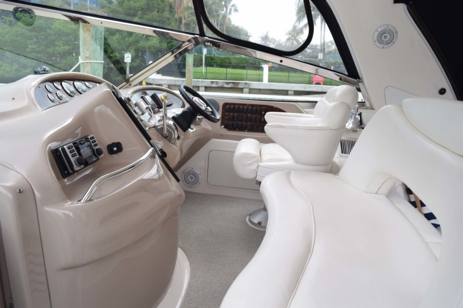 Sea Ray-460 Sundancer 2002-The Payoff Key Biscayne-Florida-United States-Helm and Companion Seat from PORT-1569331 | Thumbnail