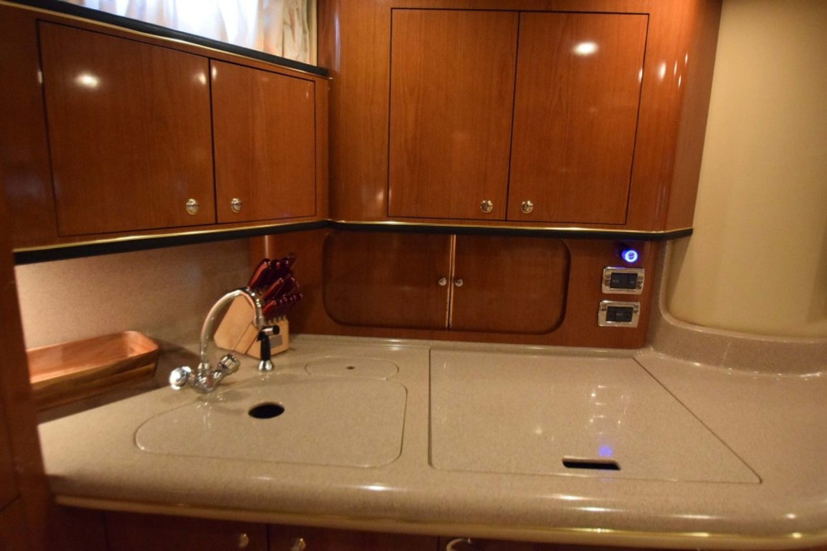 Sea Ray-460 Sundancer 2002-The Payoff Key Biscayne-Florida-United States-Galley with Covers-1569308 | Thumbnail