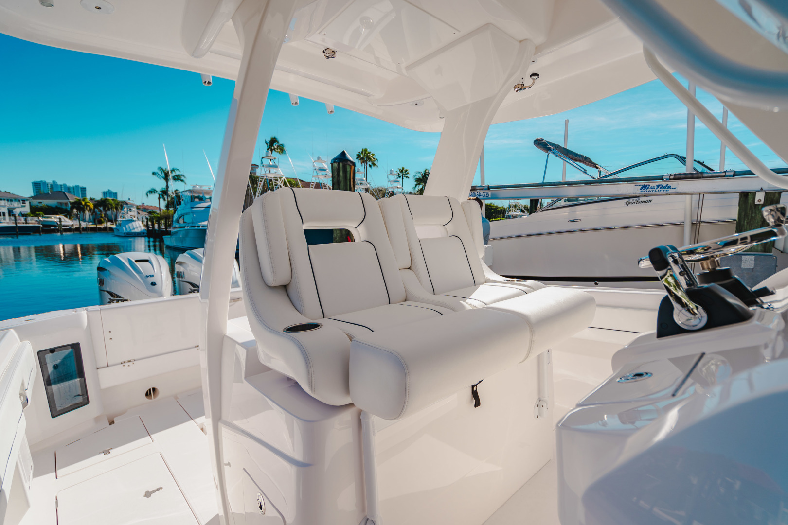 Intrepid-345 Nomad 2020-CORYPHEE North Palm Beach-Florida-United States-Helm Seating-1574576 | Thumbnail