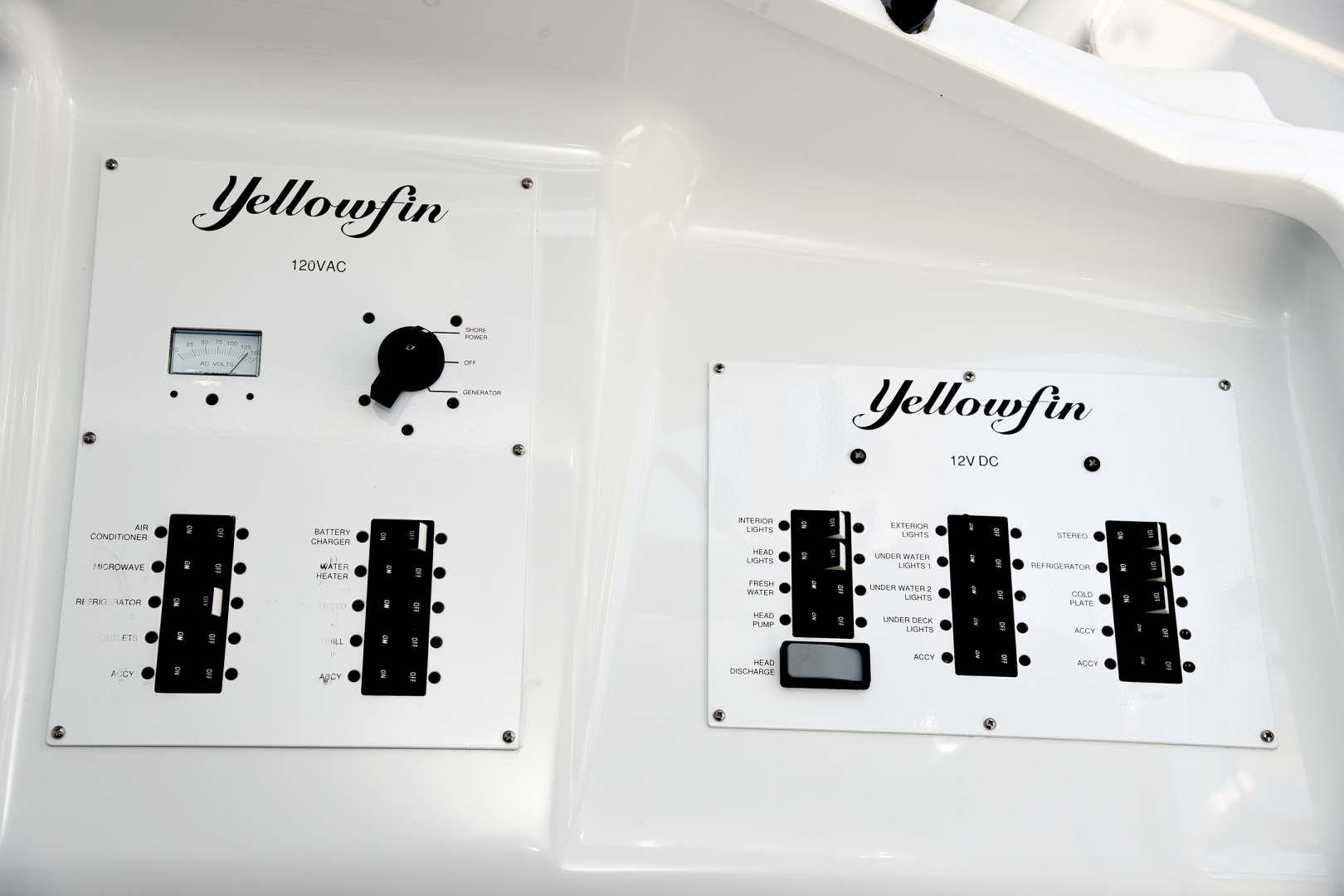 Yellowfin-42 Center Console 2015-Tejas Cabo San Lucas-Mexico-2015 Yellowfin 42 Center Console  Tejas  Electrical Panel-1573429 | Thumbnail