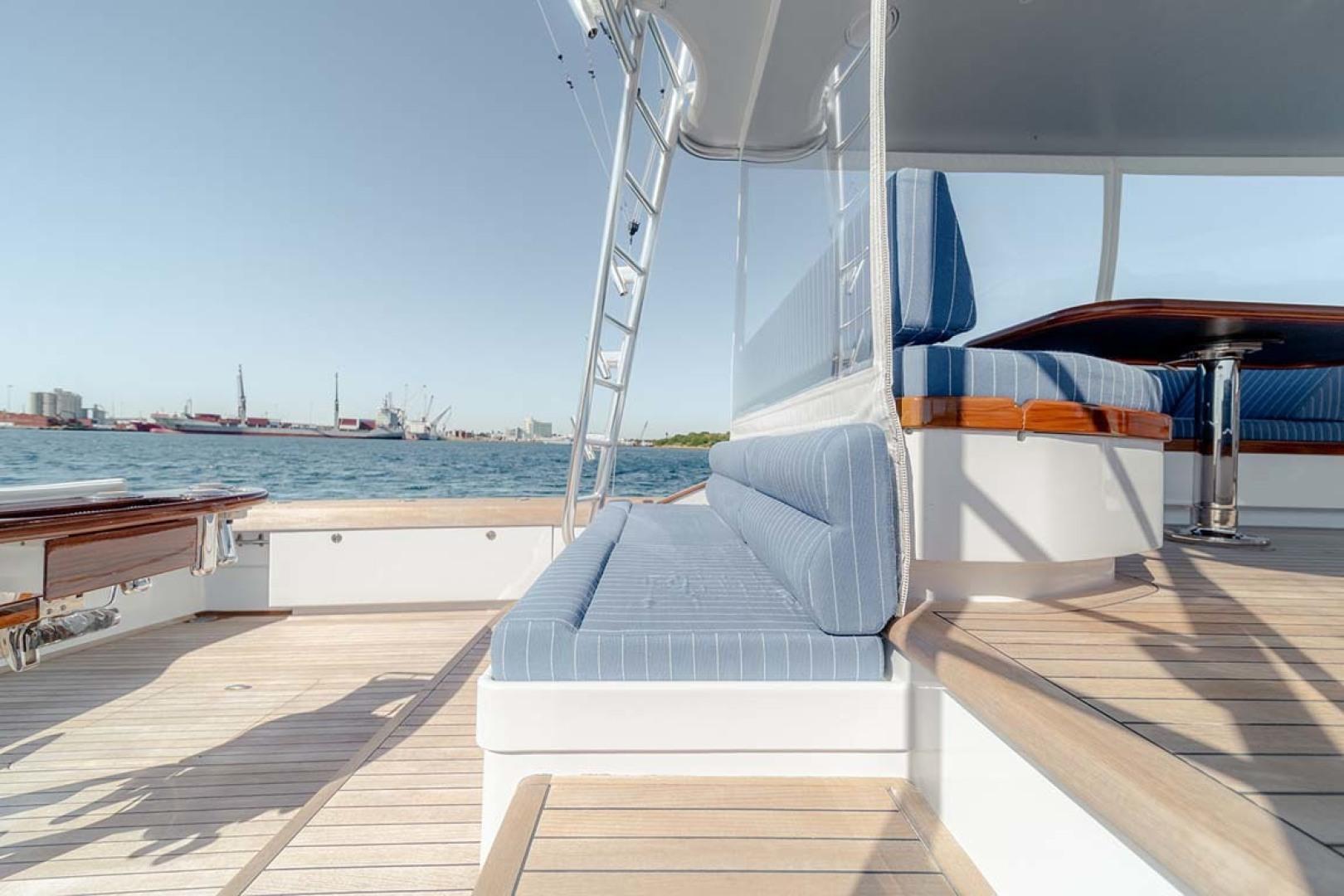 Jim Smith-Walkaround Express 2018-Eurybia North Palm Beach-Florida-United States-Mezzanine Seating with Storage and Refrigeration-1573749   Thumbnail