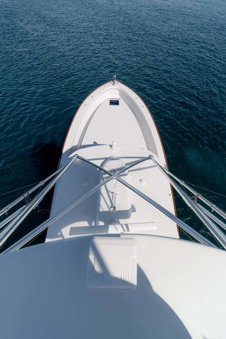 Jim Smith-Walkaround Express 2018-Eurybia North Palm Beach-Florida-United States-View of the Foredeck from the Tower-1573745   Thumbnail