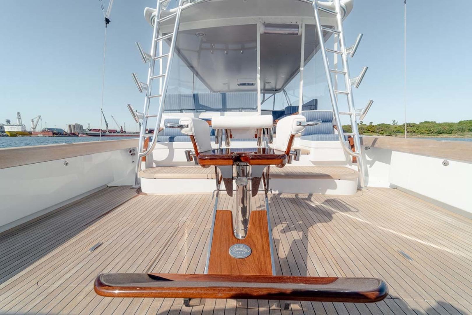 Jim Smith-Walkaround Express 2018-Eurybia North Palm Beach-Florida-United States-Teak Covering Board with Teak Coamings-1573752   Thumbnail