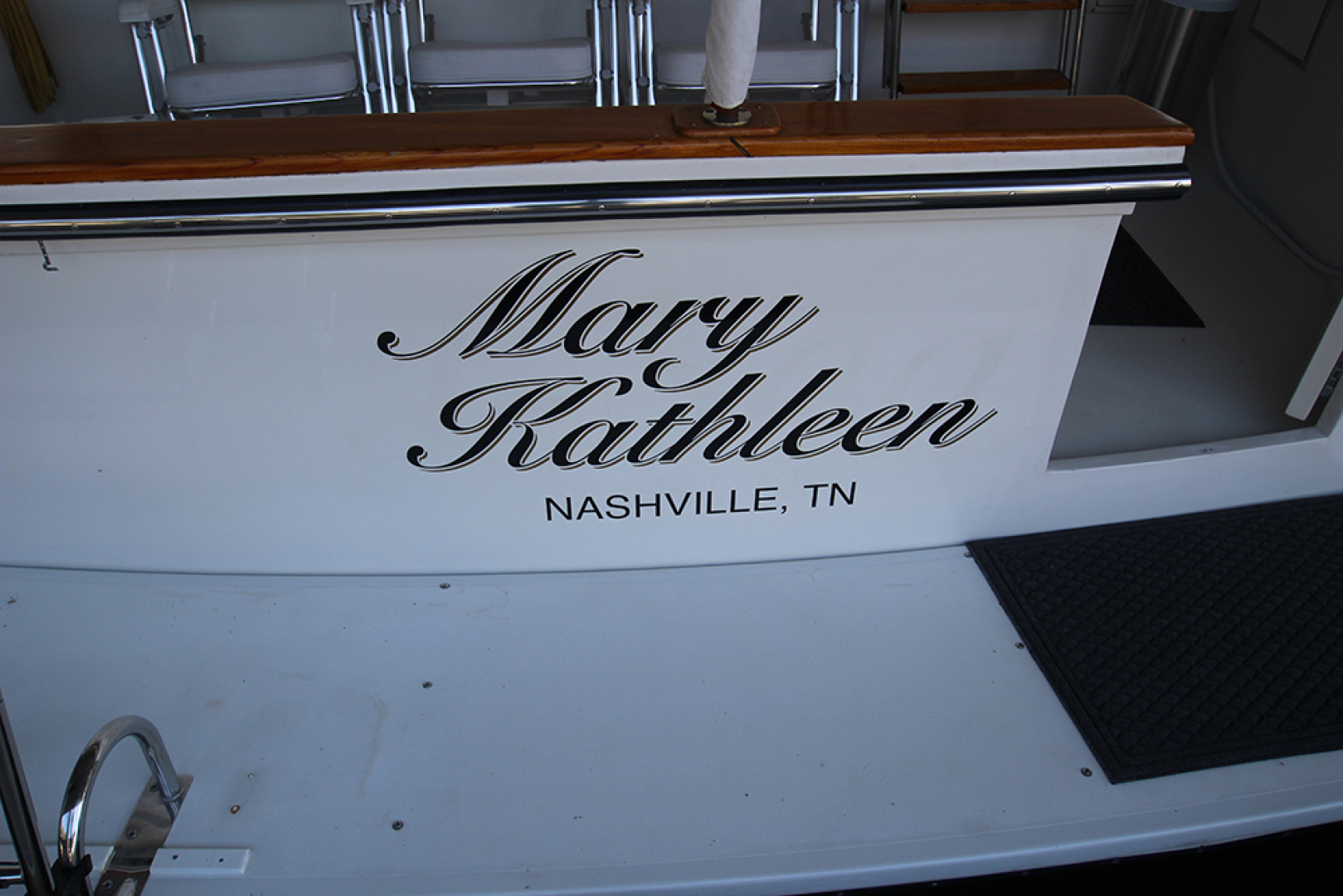 Californian-52 Cockpit Motor Yacht 1991-MARY KATHLEEN Mount Juliet-Tennessee-United States-Transom Name-1574731 | Thumbnail