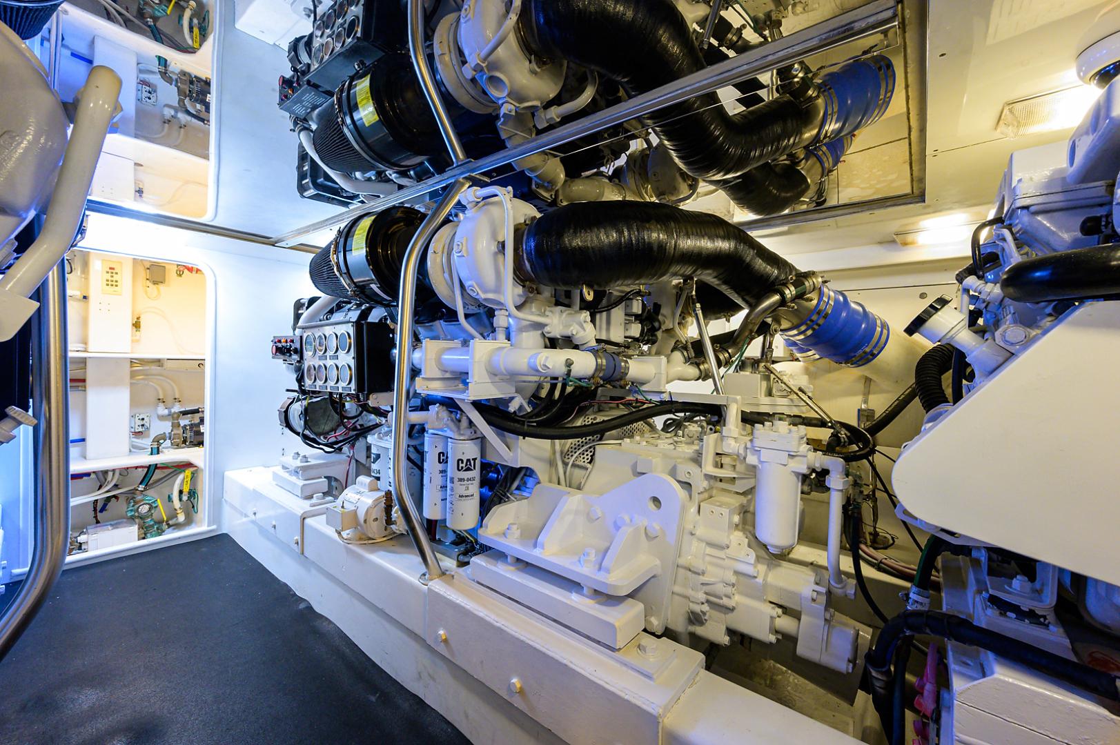 Sunny Briggs-Custom Sportfisherman 2000-Guajiro Stuart-Florida-United States-Engine Room-1578931 | Thumbnail