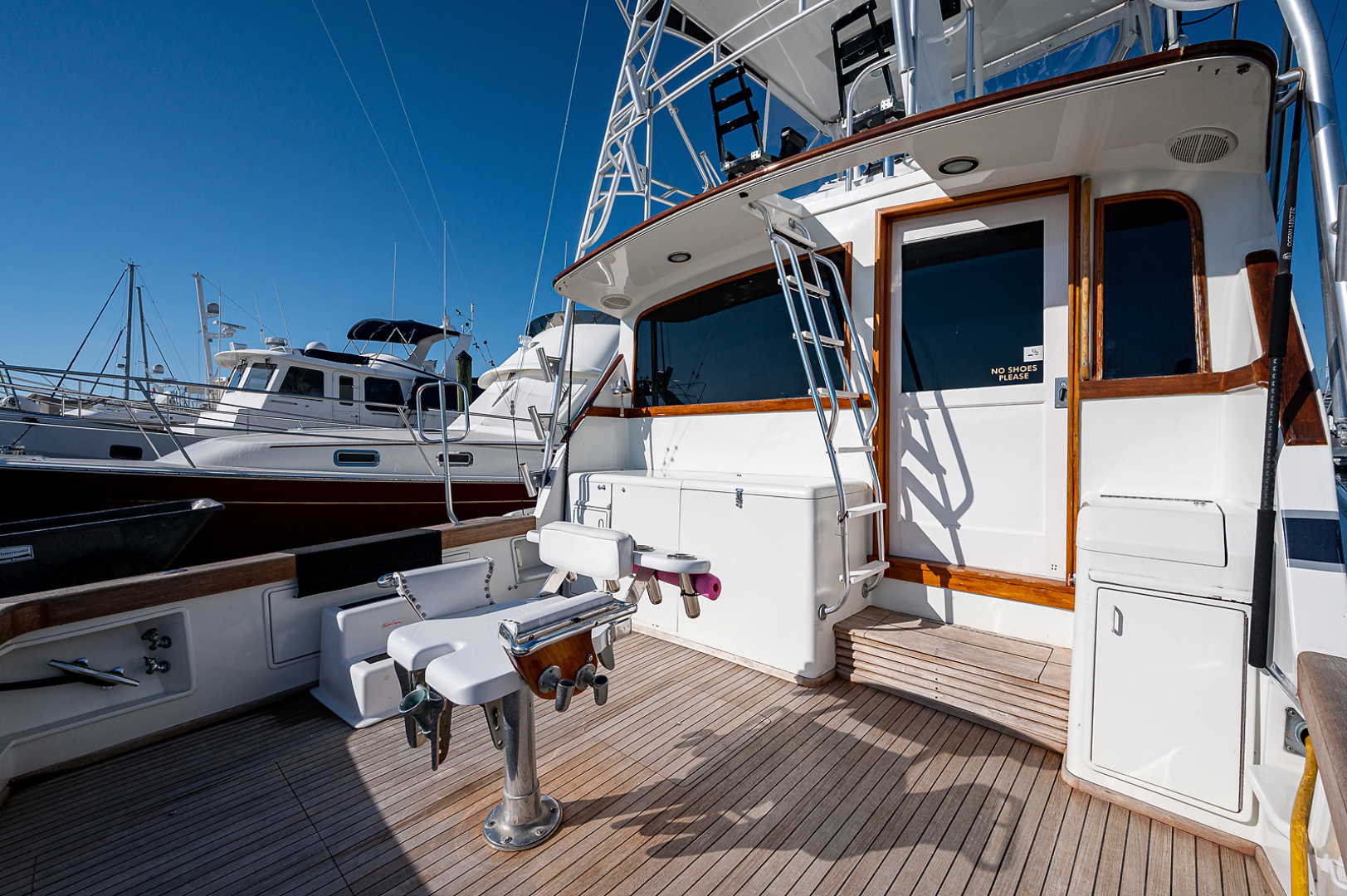 Ocean Yachts-Super Sport 1990-Blue Ridge Runner Stuart-Florida-United States-Cockpit-1598183 | Thumbnail