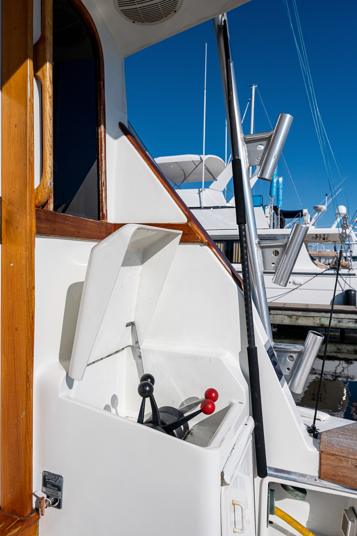 Ocean Yachts-Super Sport 1990-Blue Ridge Runner Stuart-Florida-United States-Cockpit-1598189 | Thumbnail