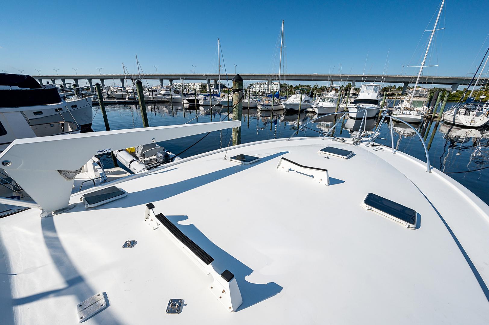Ocean Yachts-Super Sport 1990-Blue Ridge Runner Stuart-Florida-United States-Bow-1598192 | Thumbnail