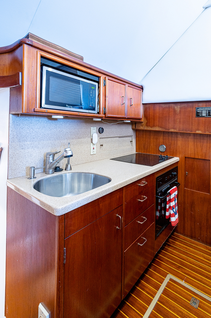 Ocean Yachts-Super Sport 1990-Blue Ridge Runner Stuart-Florida-United States-Galley-1598100 | Thumbnail