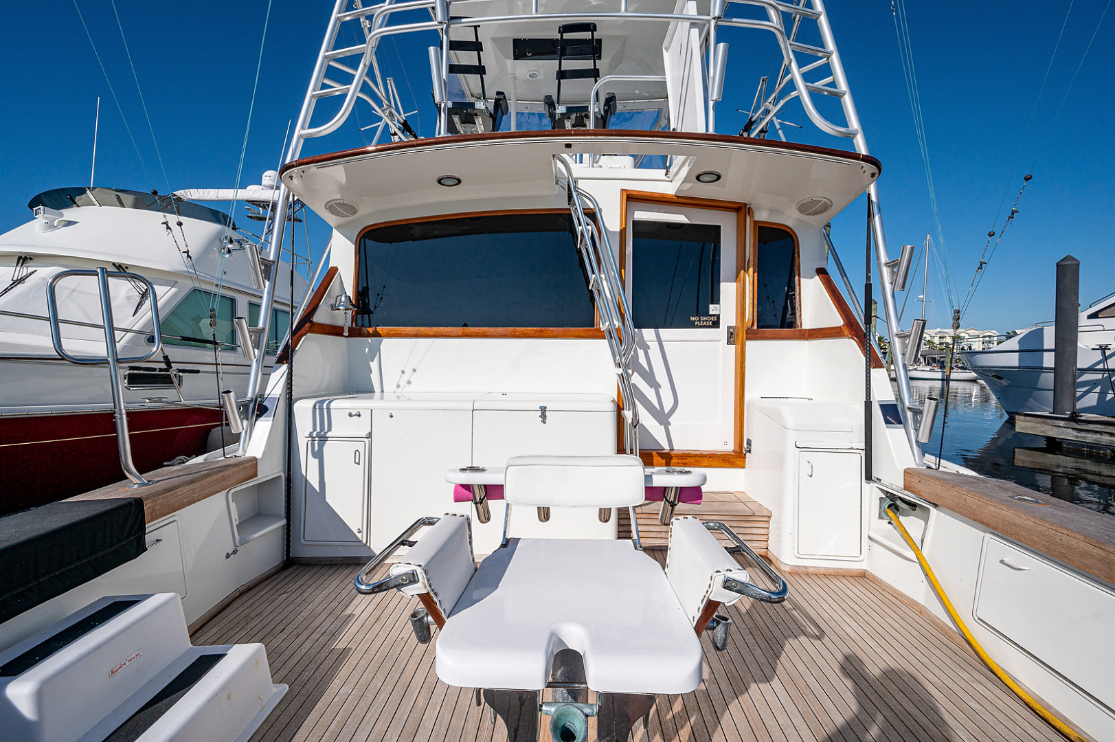 Ocean Yachts-Super Sport 1990-Blue Ridge Runner Stuart-Florida-United States-Cockpit-1598184 | Thumbnail