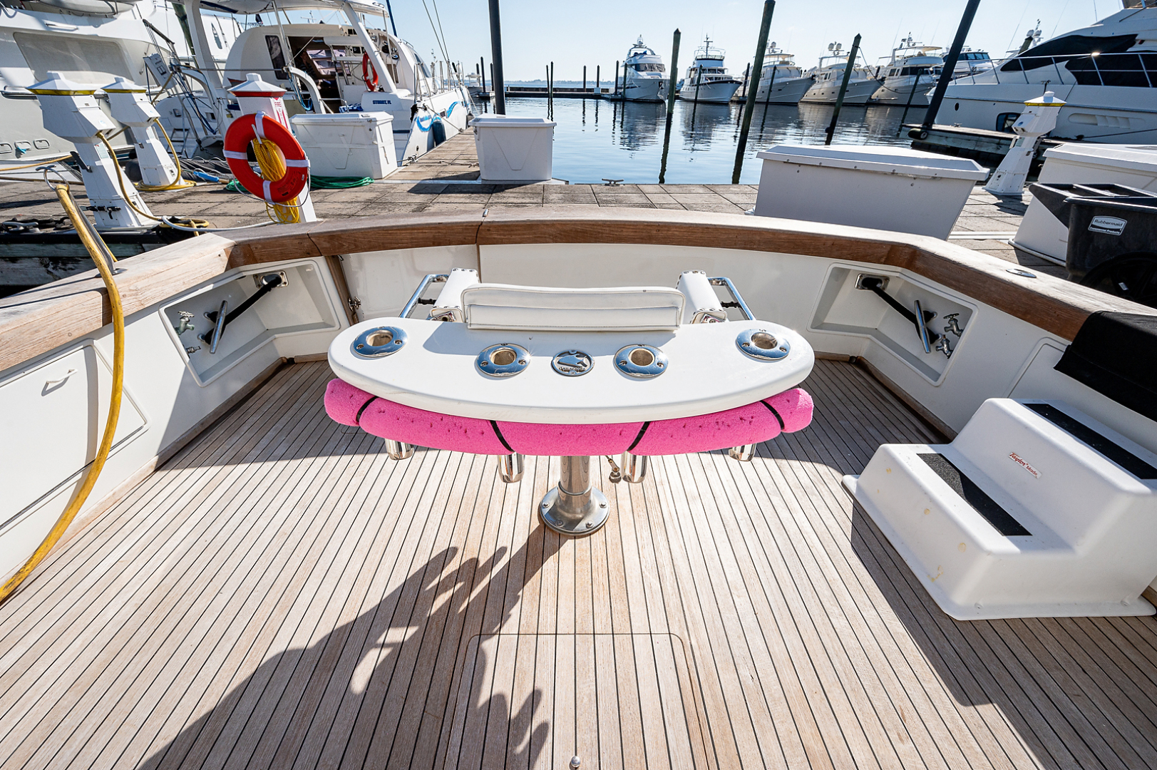 Ocean Yachts-Super Sport 1990-Blue Ridge Runner Stuart-Florida-United States-Cockpit-1598187 | Thumbnail