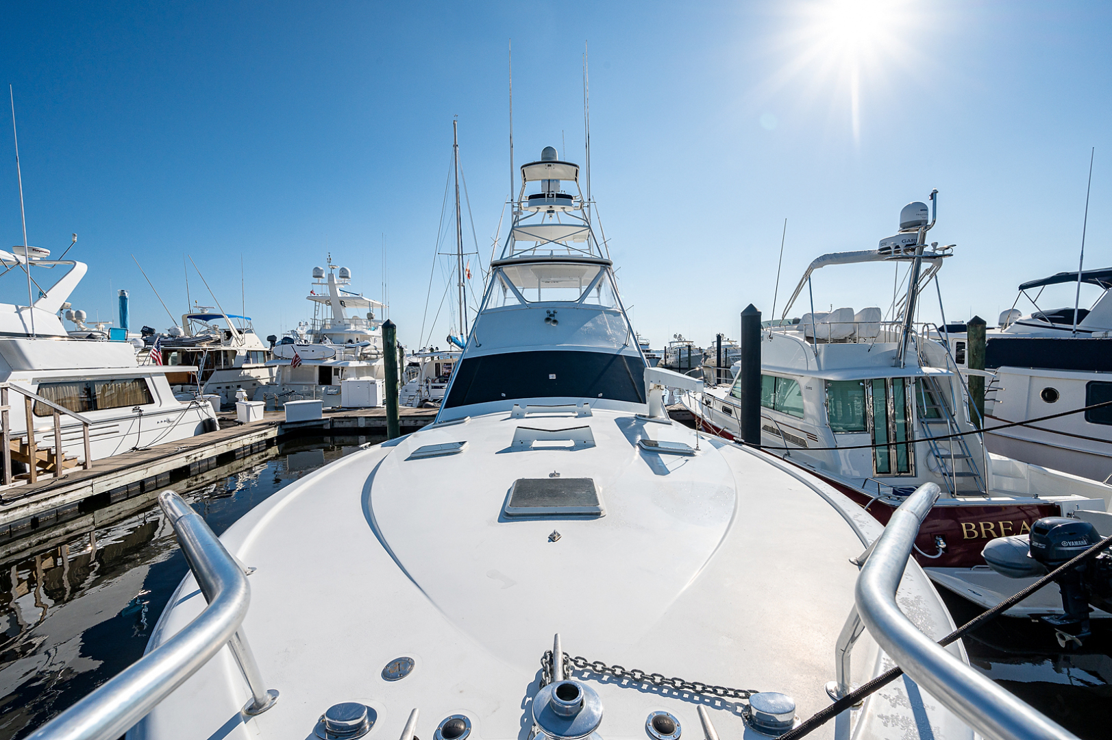 Ocean Yachts-Super Sport 1990-Blue Ridge Runner Stuart-Florida-United States-Bow-1598194 | Thumbnail