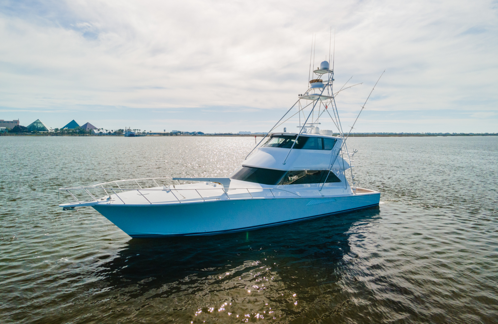 Viking-65 Enclosed Bridge 2000-Coastal Outlaw Galveston-Texas-United States-Viking 65 Enclosed Bridge 2000 Coastal Outlaw-1581081 | Thumbnail