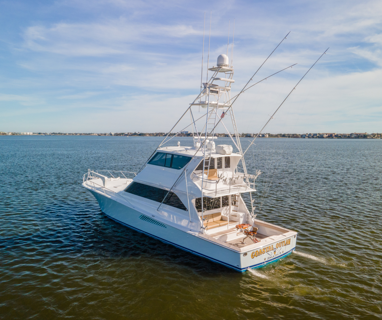 Viking-65 Enclosed Bridge 2000-Coastal Outlaw Galveston-Texas-United States-Viking 65 Enclosed Bridge 2000 Coastal Outlaw-1581082 | Thumbnail