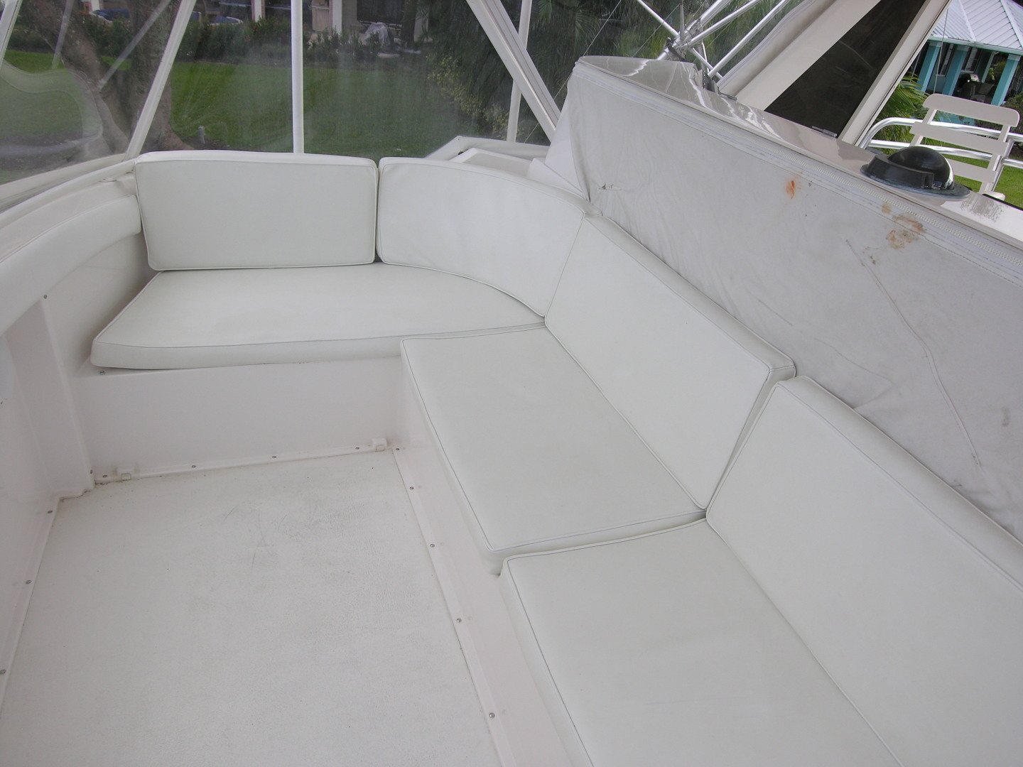 Bertram-Sport Fisherman 1995-REELY NAUTI Fort Lauderdale-Florida-United States-Flybridge Seating-1581687 | Thumbnail