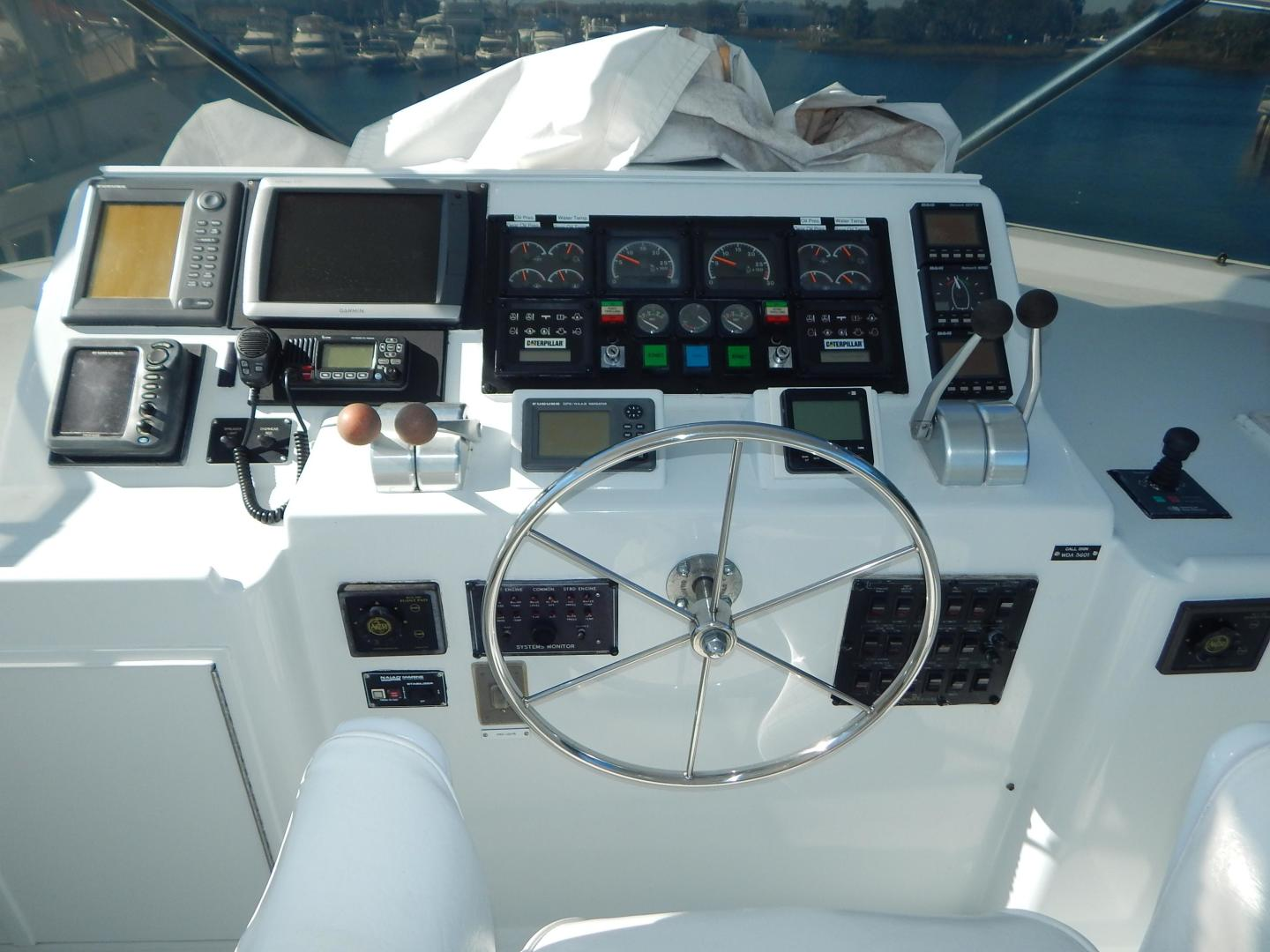 Hatteras-Sport Deck Motor Yacht 1998-I GOT YOU Jacksonville Beach-Florida-United States-1582461 | Thumbnail
