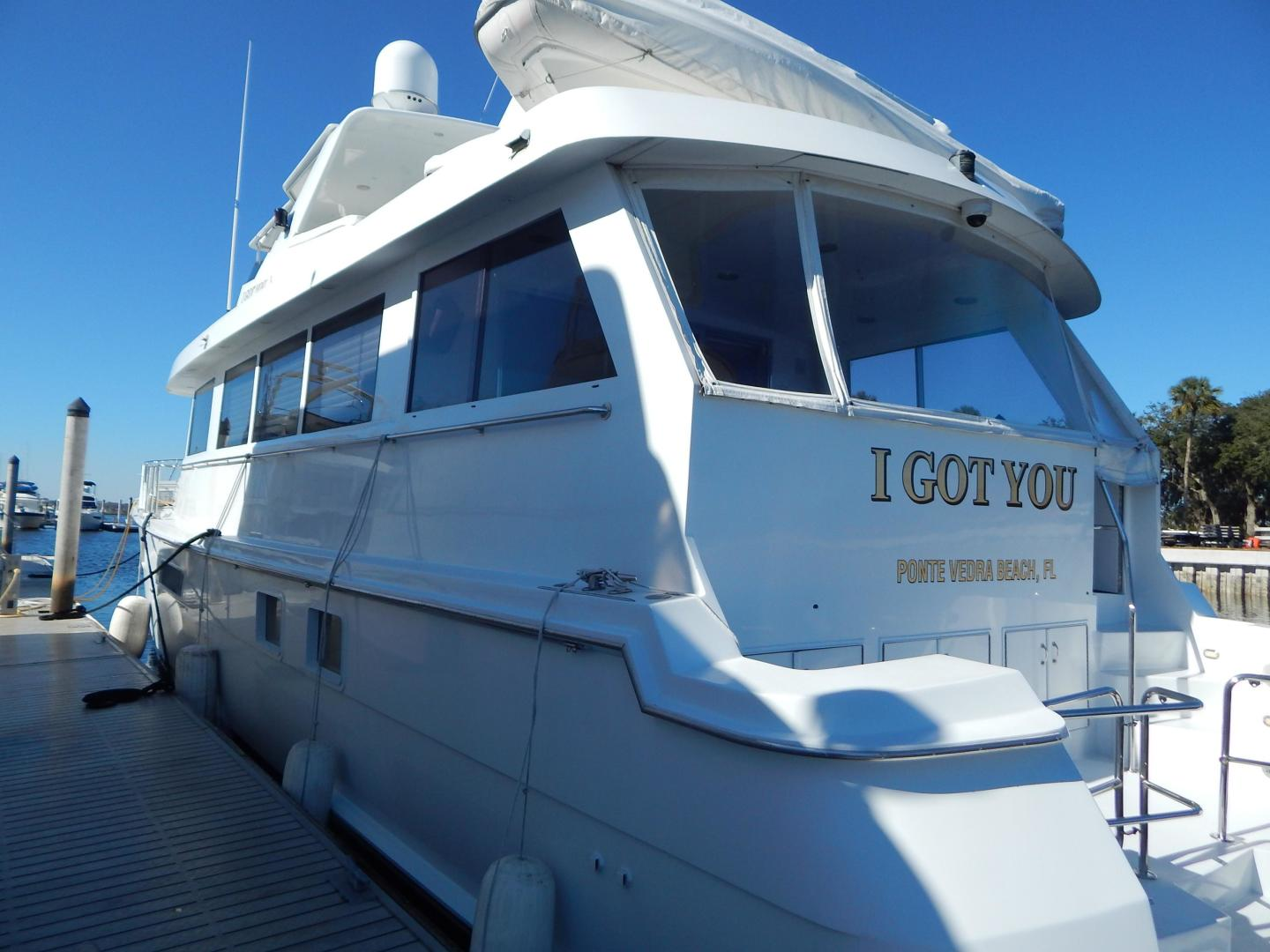 Hatteras-Sport Deck Motor Yacht 1998-I GOT YOU Jacksonville Beach-Florida-United States-1582435 | Thumbnail