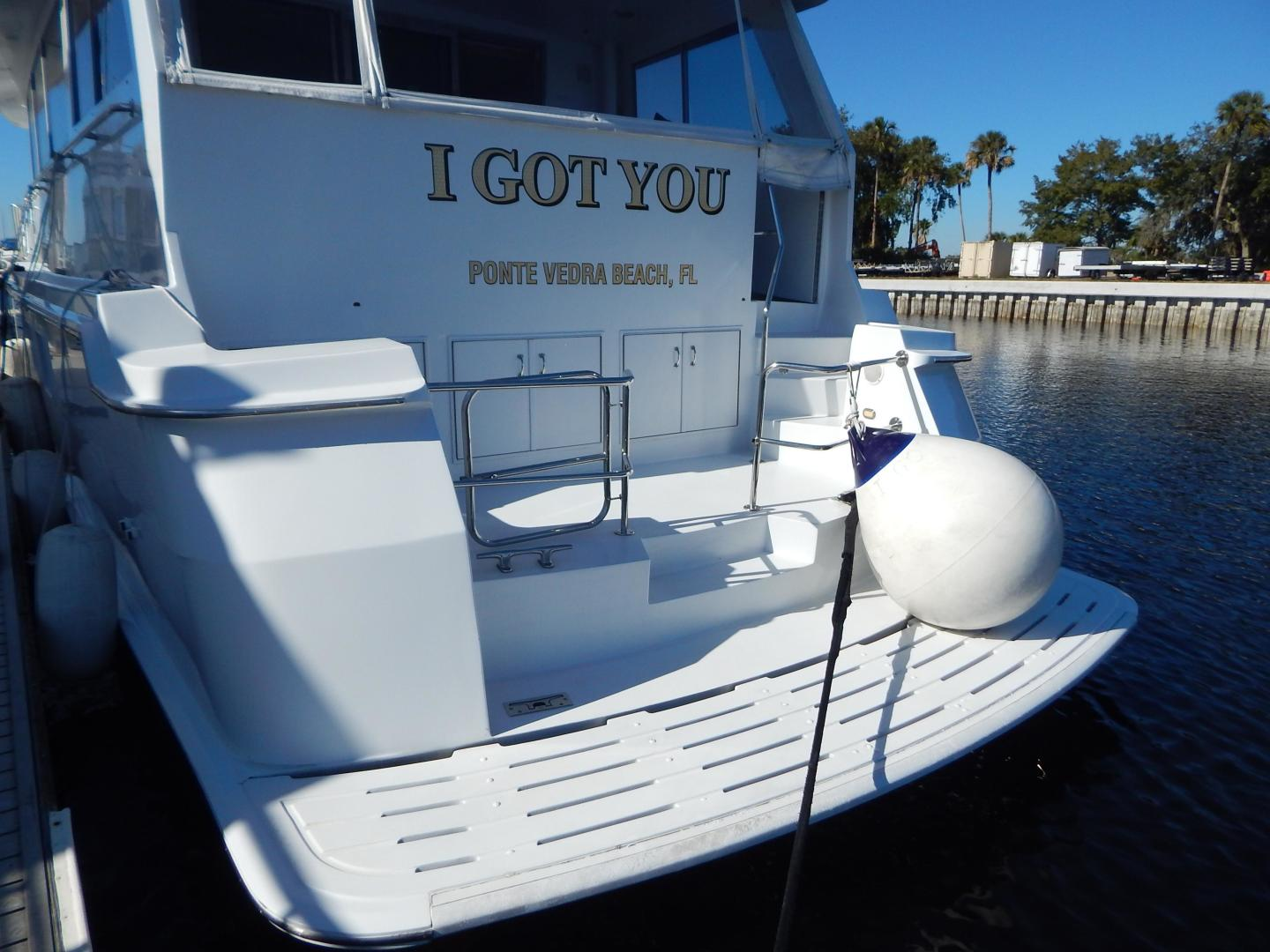 Hatteras-Sport Deck Motor Yacht 1998-I GOT YOU Jacksonville Beach-Florida-United States-1582436 | Thumbnail