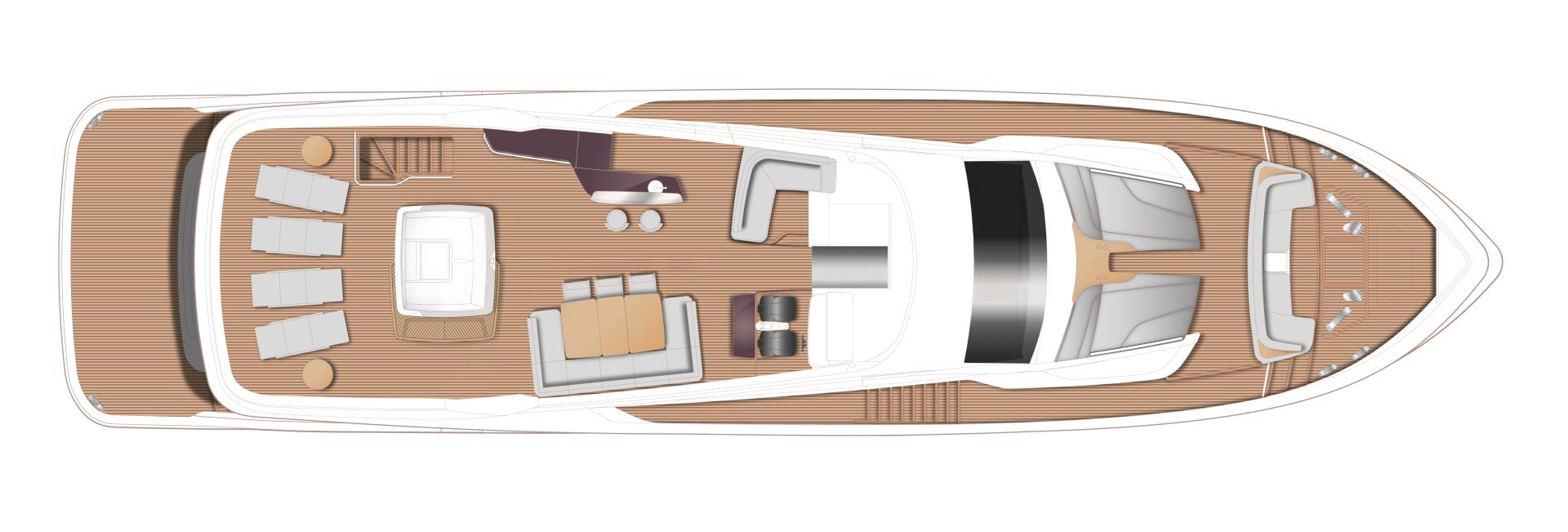 Princess-95 Motor Yacht 2022-Y95 Unknown-Florida-United States-1582779 | Thumbnail