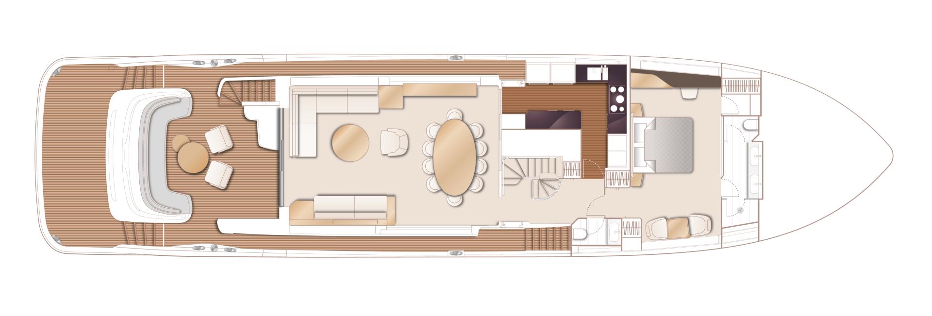 Princess-95 Motor Yacht 2022-Y95 Unknown-Florida-United States-1582782 | Thumbnail