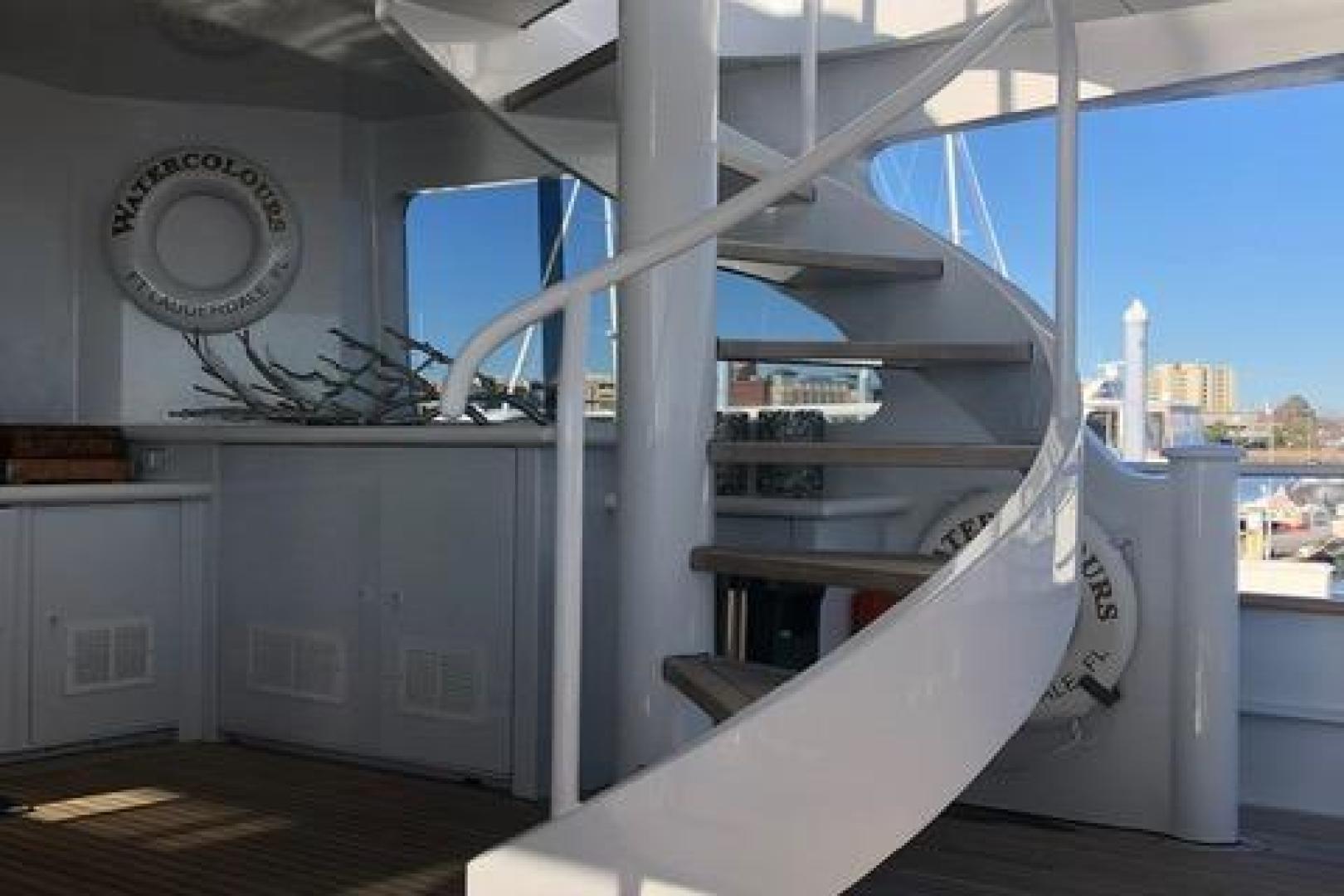 Trinity Yachts-Raised Pilothouse  1991-Watercolours Charleston-South Carolina-United States-1601824 | Thumbnail