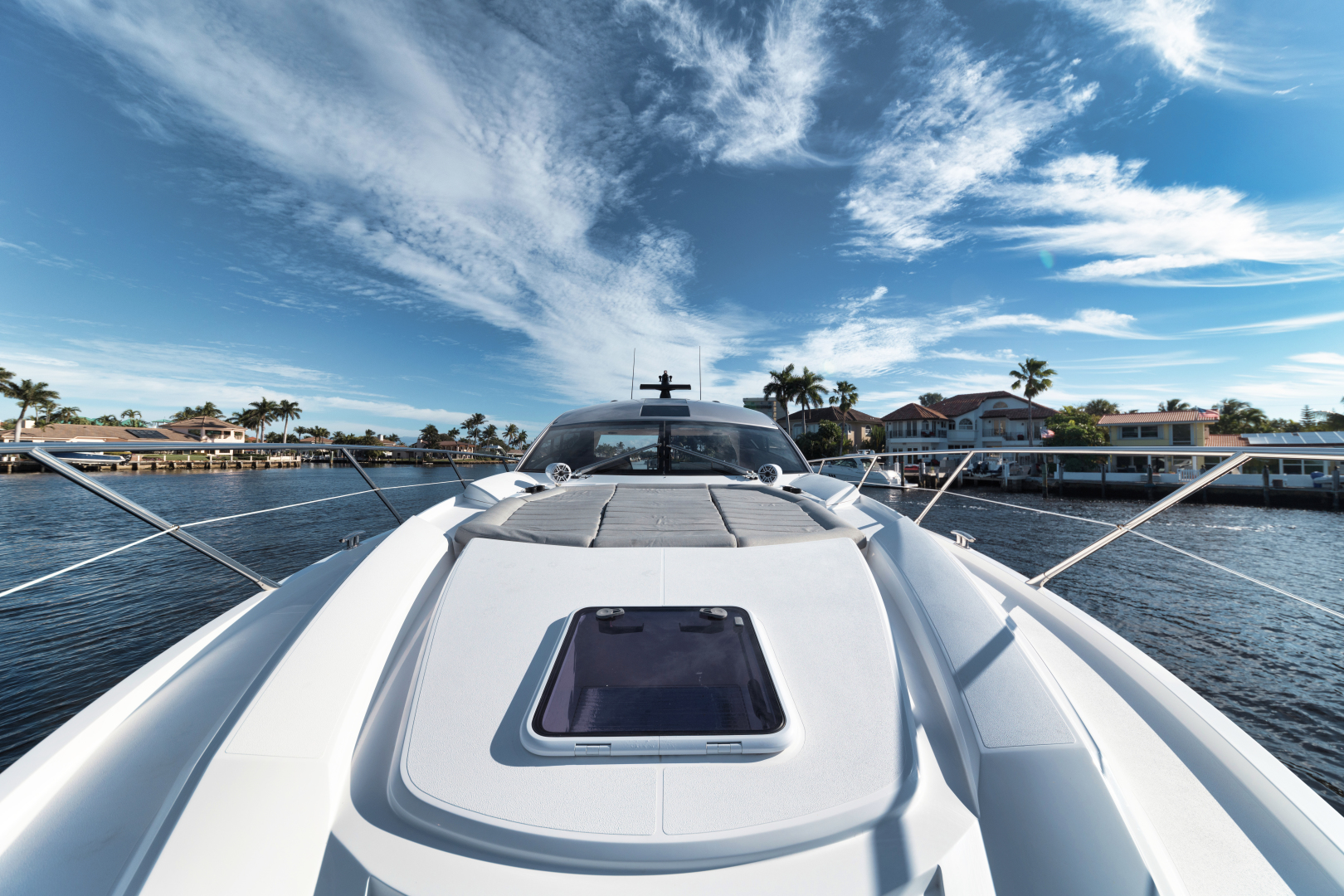 Sunseeker-Predator 2016-Wired Up Fort Lauderdale-Florida-United States-Foredeck-1585634 | Thumbnail