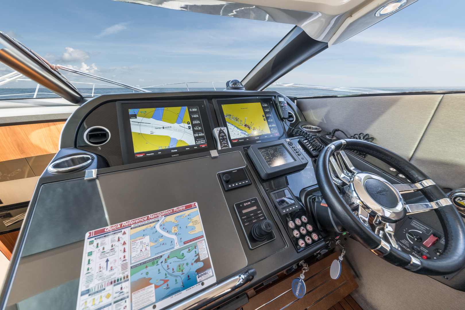 Sunseeker-Predator 2016-Wired Up Fort Lauderdale-Florida-United States-Helm Electronics-1585662 | Thumbnail