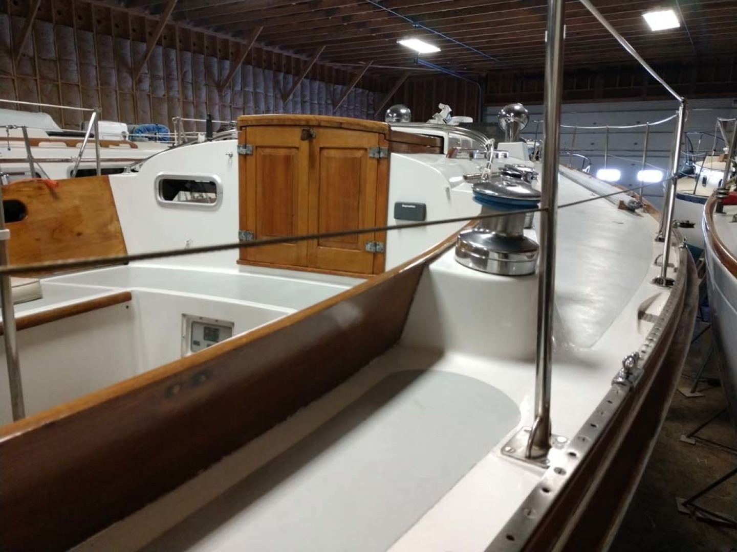 Hinckley-Bermuda 40 Yawl 1970-Rhodora South Berwick-Maine-United States-Wide Side Deck-1585585 | Thumbnail