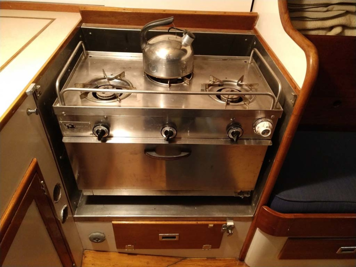 Hinckley-Bermuda 40 Yawl 1970-Rhodora South Berwick-Maine-United States-Galley Cooking Station-1585519 | Thumbnail