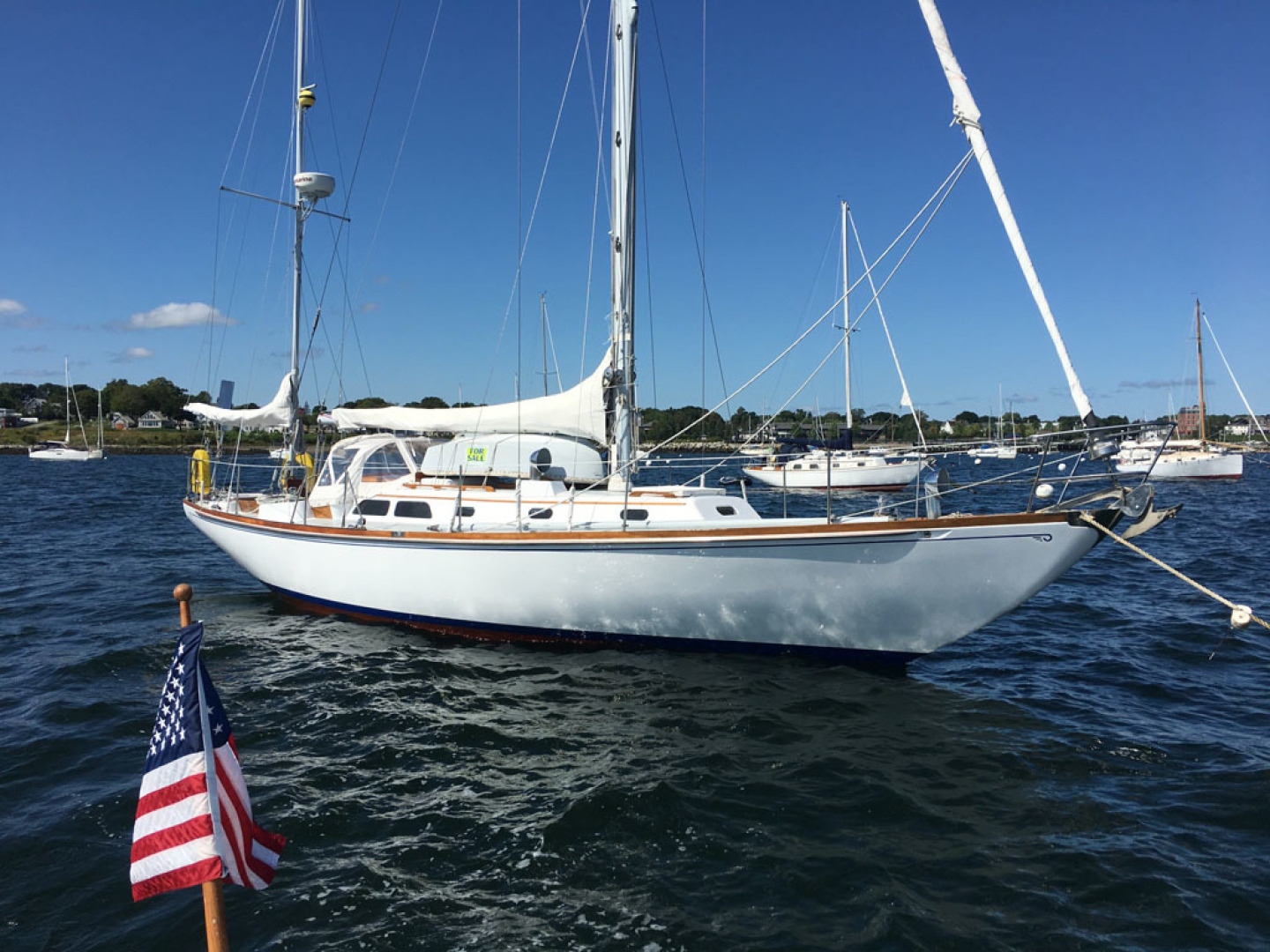 Hinckley-Bermuda 40 Yawl 1970-Rhodora South Berwick-Maine-United States-Main Profile-1588050 | Thumbnail