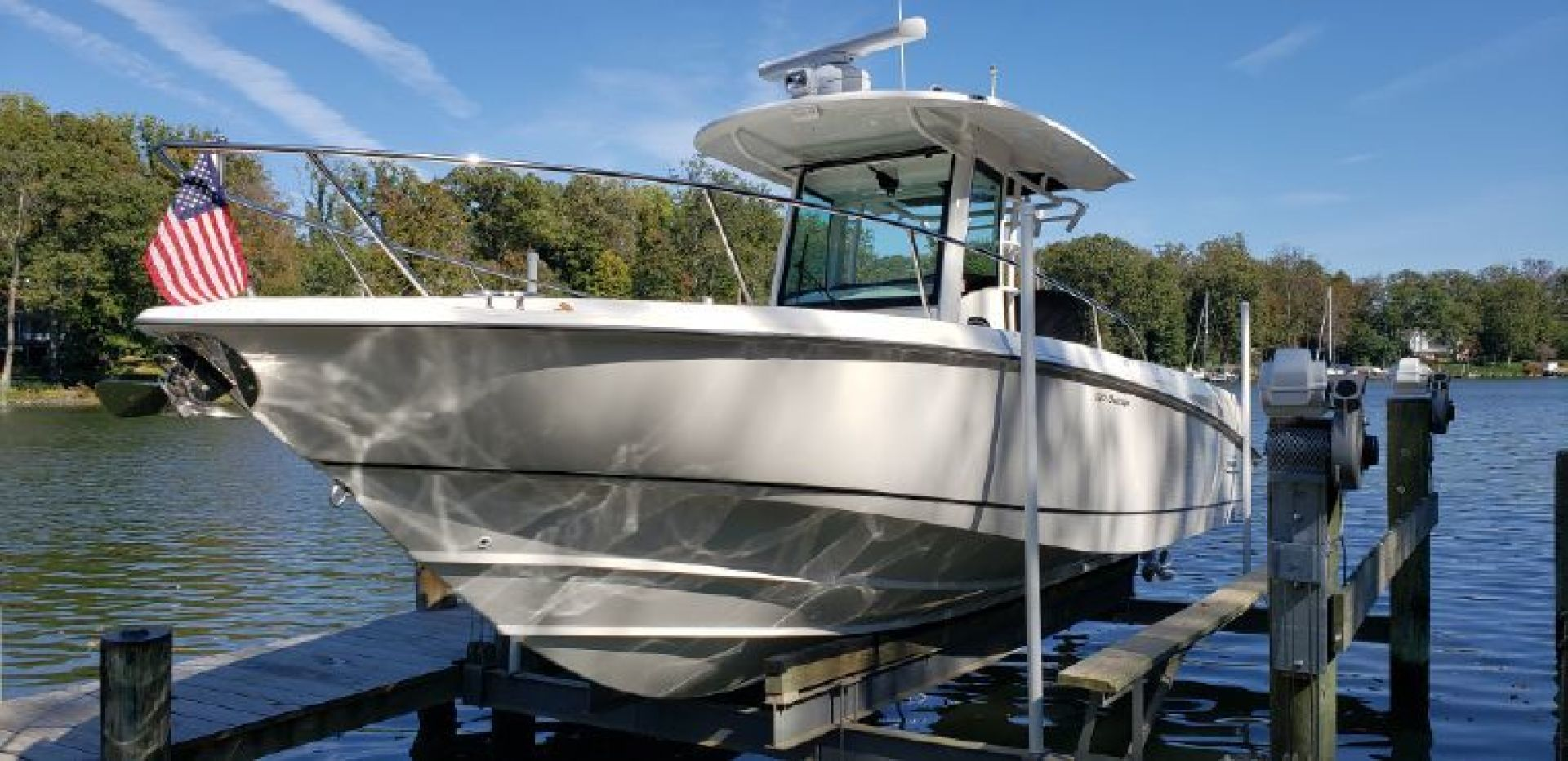 Boston Whaler-320 Outrage 2015-FLIP in FLOPS Annapolis-Maryland-United States-1586079   Thumbnail