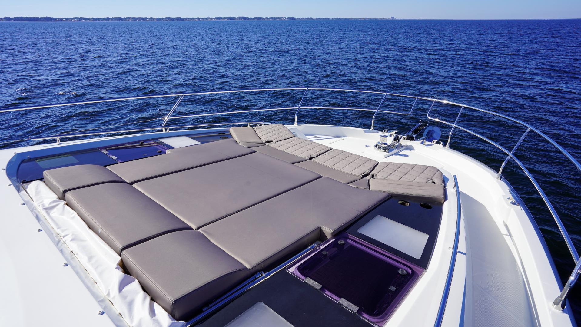 Prestige-630 Flybridge 2017-Intrepide DLC DESTIN-Florida-United States-2017 63 Prestige 630FB   Bow Sunpad (3)-1604465 | Thumbnail