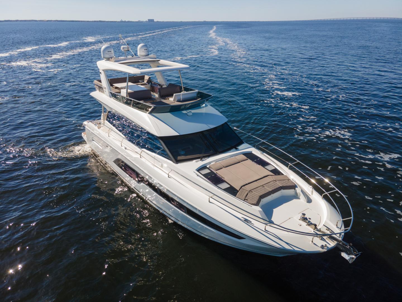 Prestige-630 Flybridge 2017-Intrepide DLC DESTIN-Florida-United States-2017 63 Prestige 630FB   Profile Stb Qtr Bow (2)-1604491 | Thumbnail