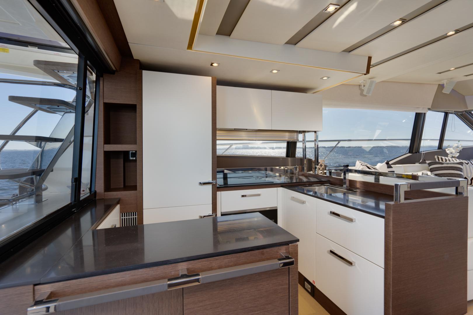 Prestige-630 Flybridge 2017-Intrepide DLC DESTIN-Florida-United States-2017 63 Prestige 630FB   Galley -1604439 | Thumbnail