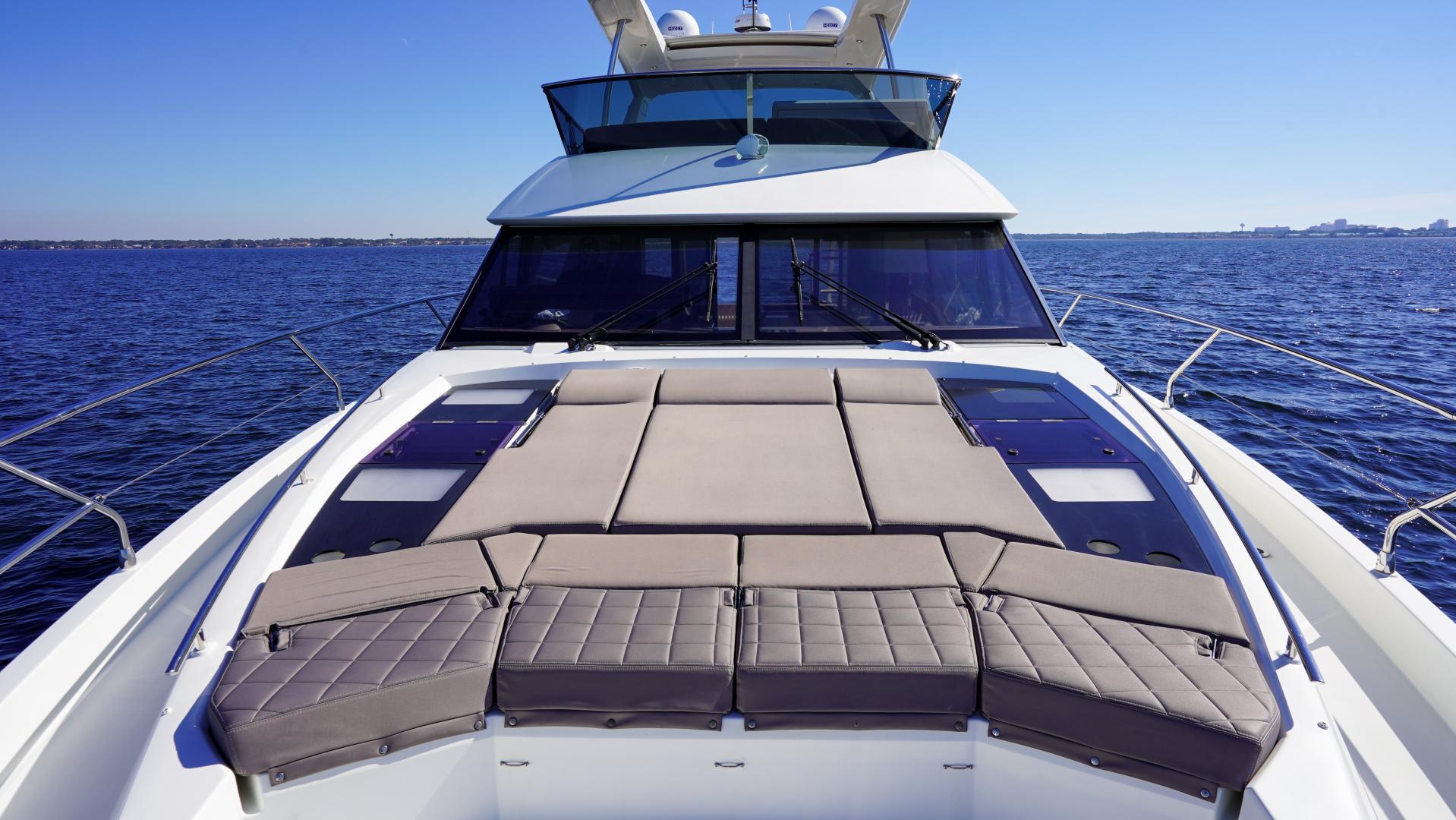 Prestige-630 Flybridge 2017-Intrepide DLC DESTIN-Florida-United States-2017 63 Prestige 630FB   Bow Sunpad (2)-1604464 | Thumbnail