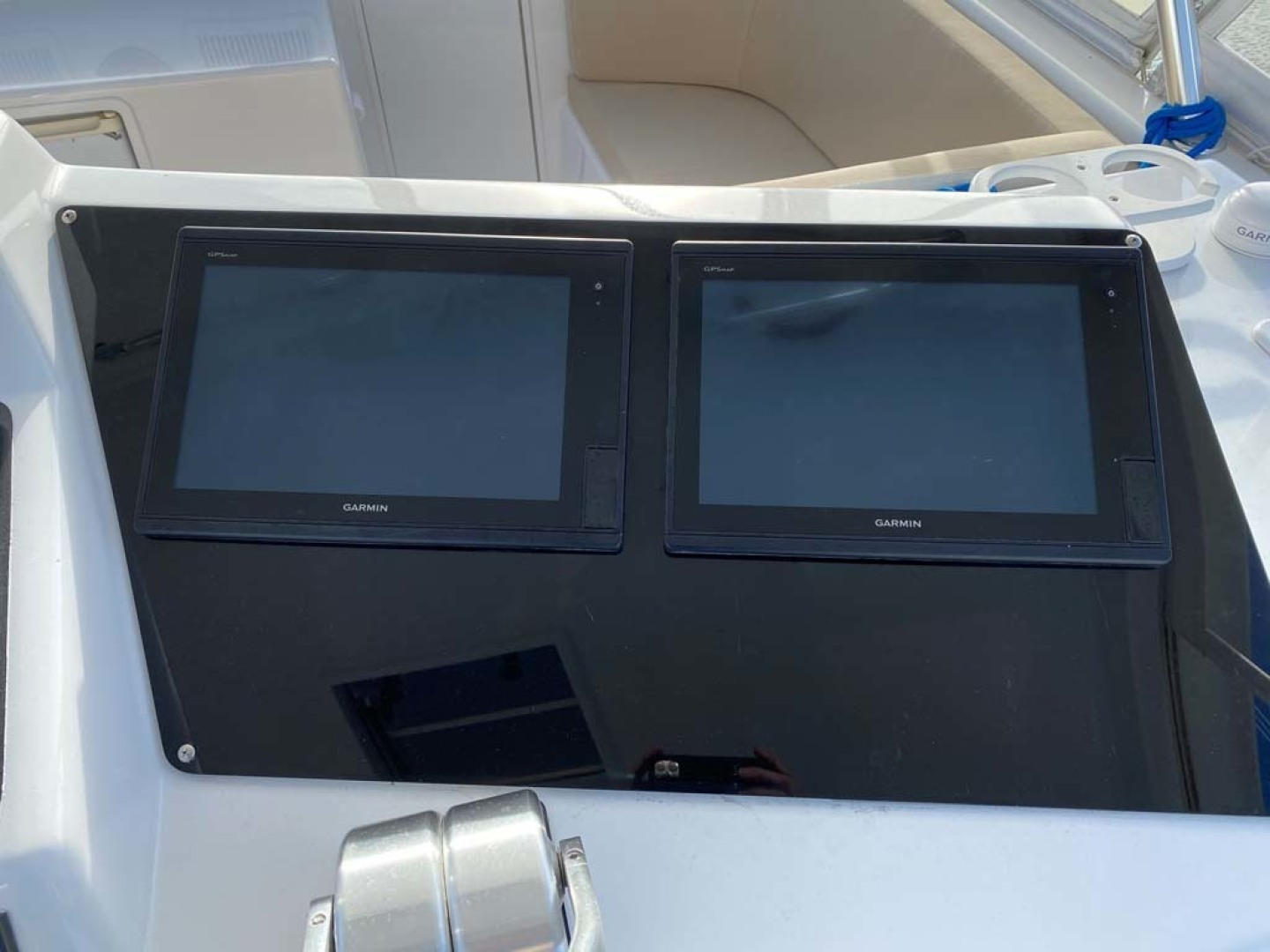 Ocean Yachts-Super Sport 1998-MJs Cape May-New Jersey-United States-Garmin 7212 Multi-Function Display (Chartplotter and Sounder) and Garmin 4208 Multi-Function Display-1586515 | Thumbnail