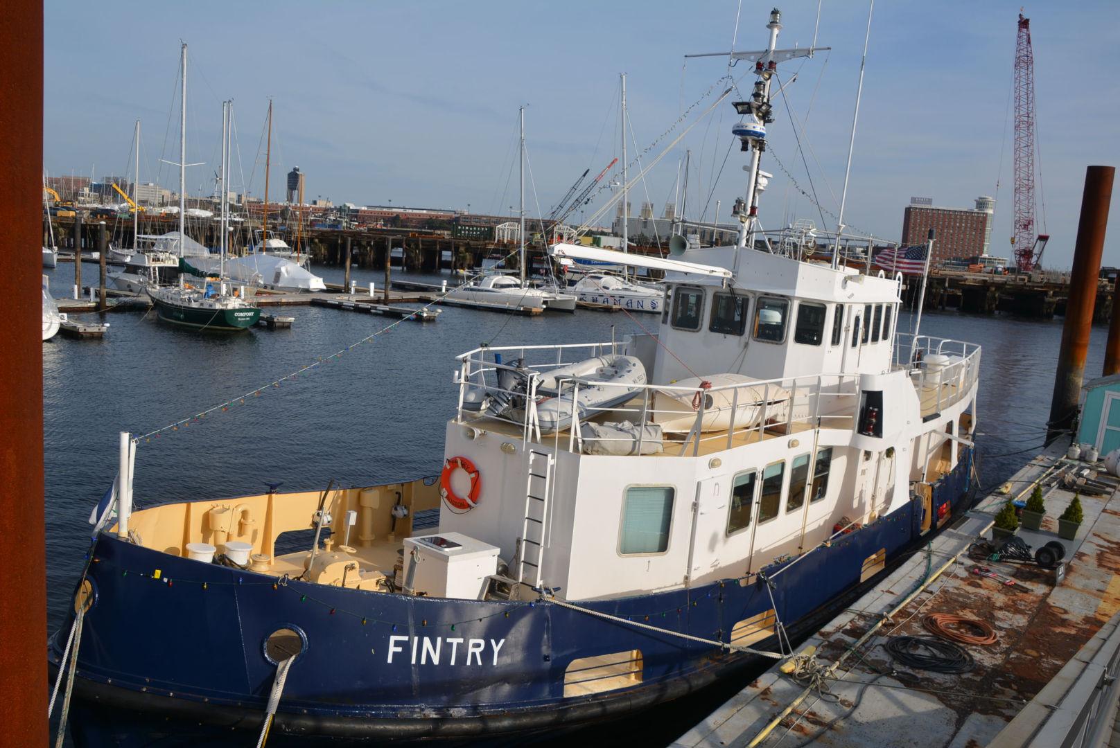 Custom-Converted Royal Navy Fleet Tender 1972-Fintry Boston-Massachusetts-United States-1587025 | Thumbnail