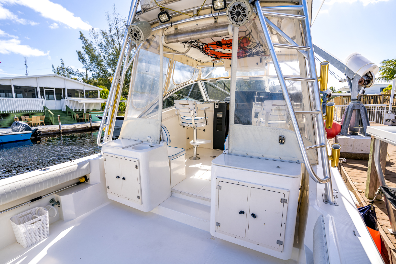 Albemarle-Express Fisherman 2001 -Key Largo-Florida-United States-32 2001 Albermarle Cockpit-1607034 | Thumbnail