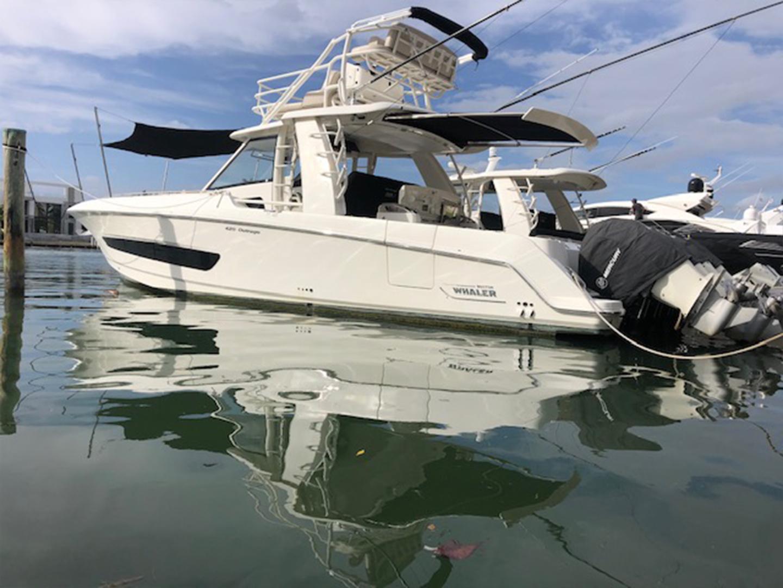 Boston Whaler-420 Outrage 2016 -Miami Beach-Florida-United States-1589501   Thumbnail