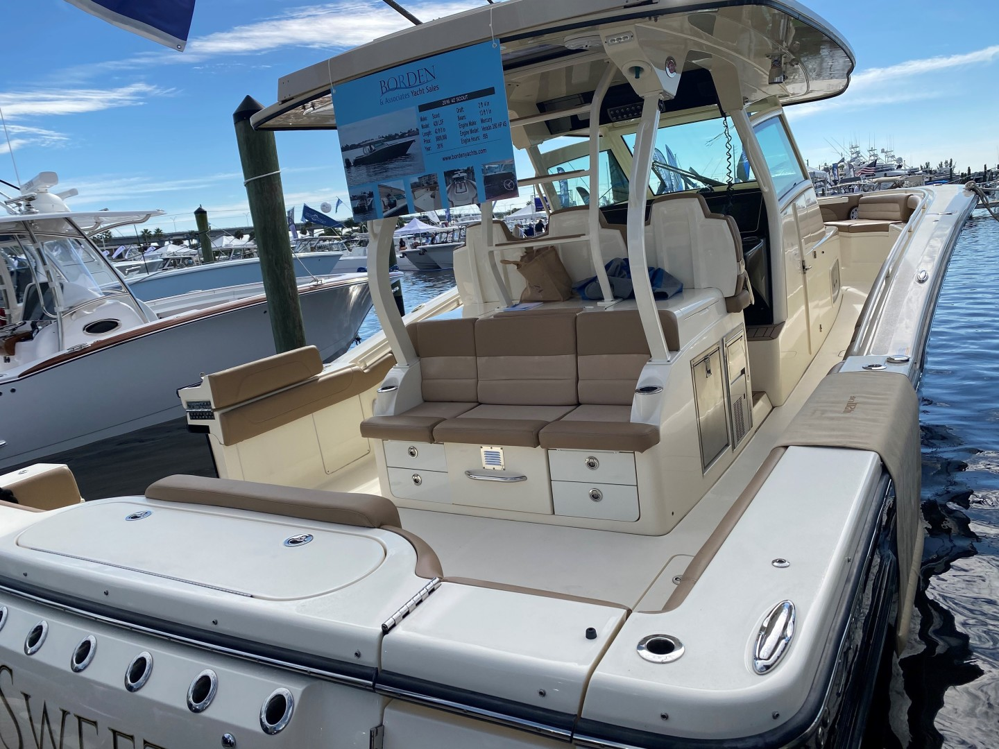 Scout-420 LXF 2016-Scout 420 LXF Delray Beach-Florida-United States-1593756 | Thumbnail