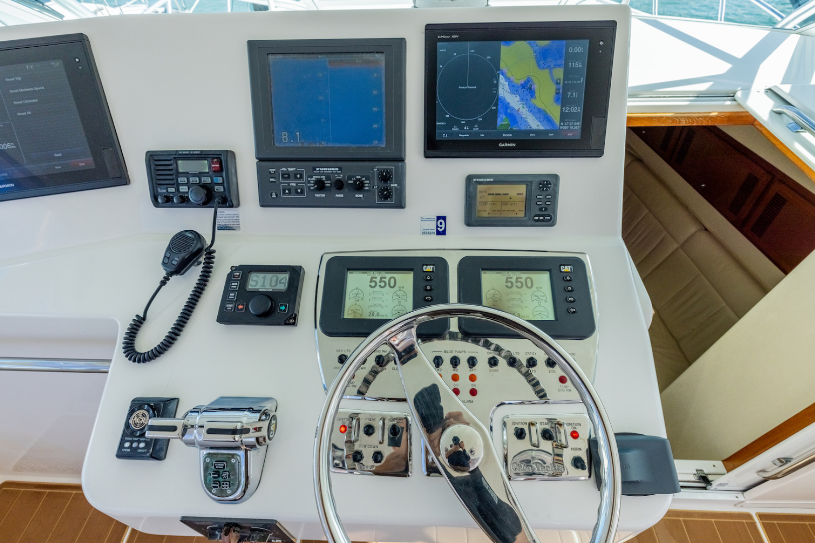 Cabo-Express 2004-Aye Roller Fort Pierce-Florida-United States-Helm Area-1591839 | Thumbnail