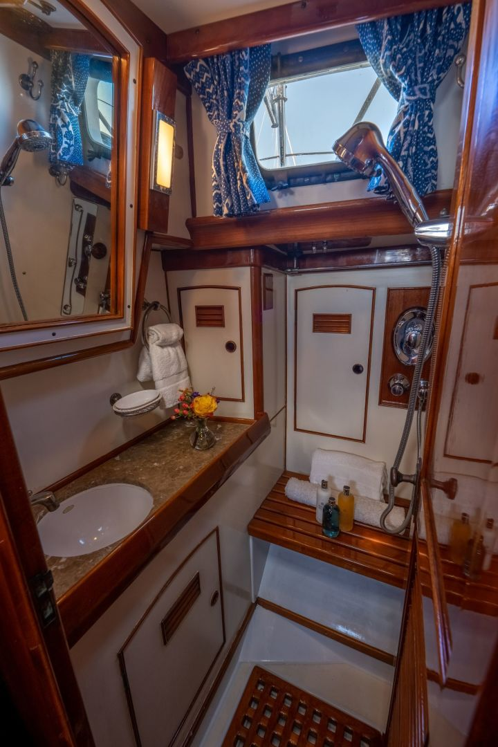 Little Harbor 1984-HERMIE LOUISE Fort Lauderdale-Florida-United States-Master Shower-1592530 | Thumbnail