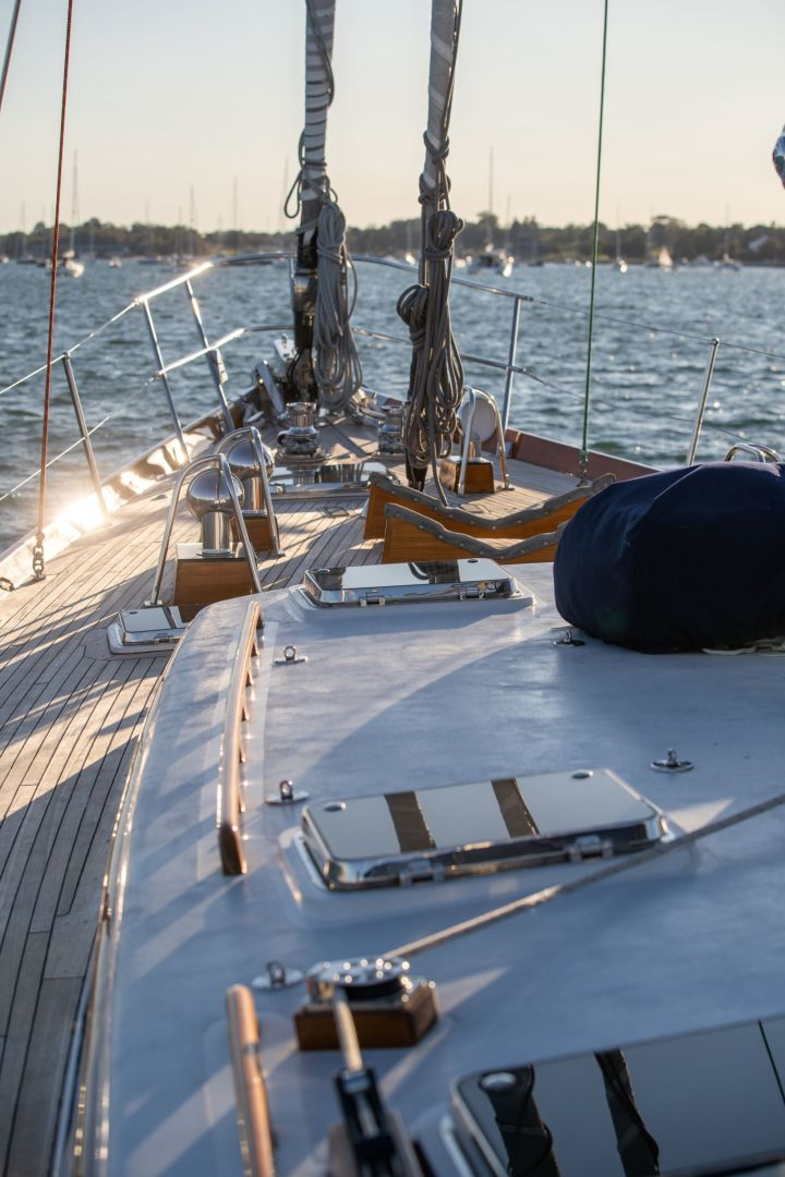 Little Harbor 1984-HERMIE LOUISE Fort Lauderdale-Florida-United States-Foredeck-1592522 | Thumbnail