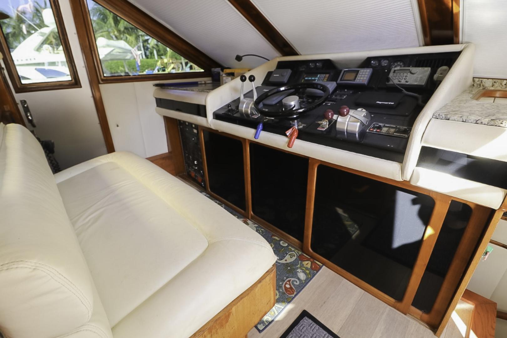 Viking-70 Cockpit Motor Yacht 1988 -Fort Lauderdale-Florida-United States-1593837   Thumbnail