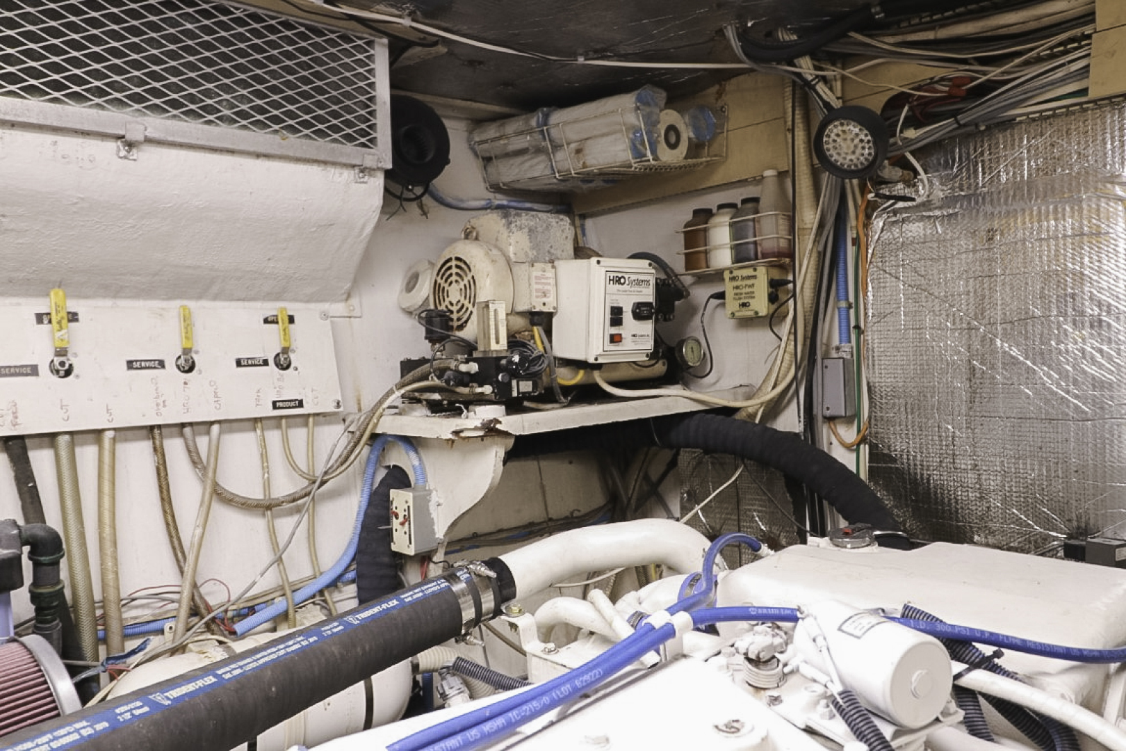 Viking-70 Cockpit Motor Yacht 1988 -Fort Lauderdale-Florida-United States-1593786   Thumbnail