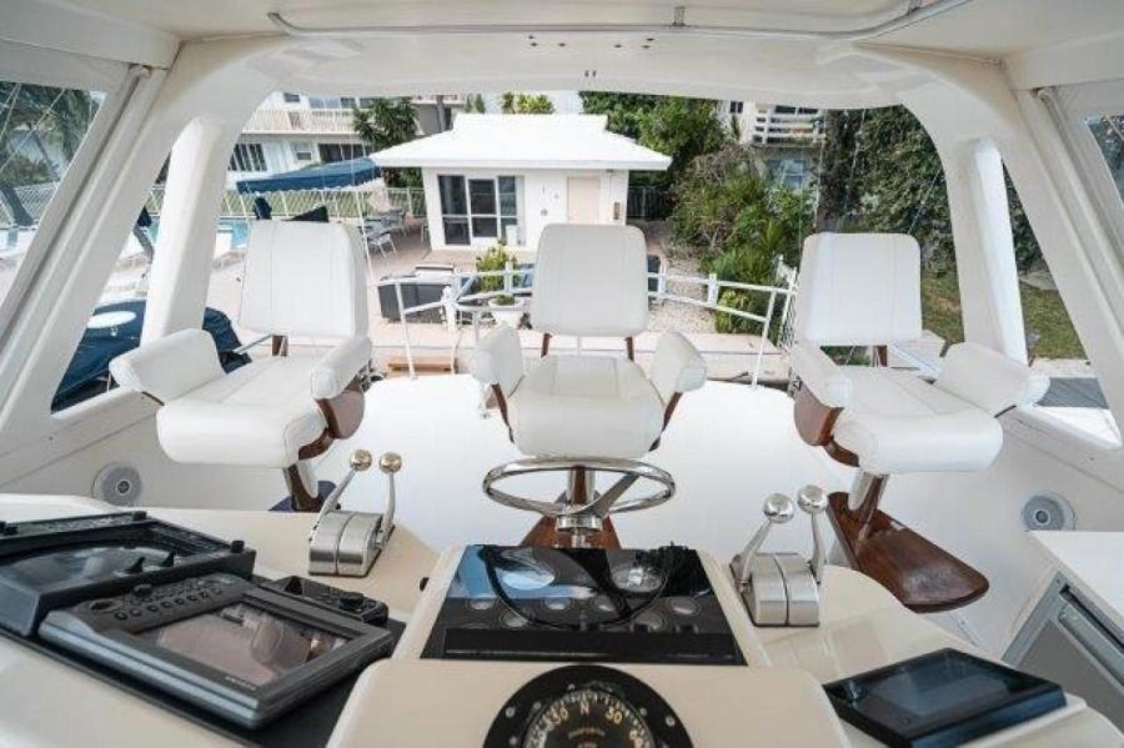 Ocean Yachts-Convertible 1993-DONE DEAL Brigantine-New Jersey-United States-Bridge Helm Chairs-1594443 | Thumbnail