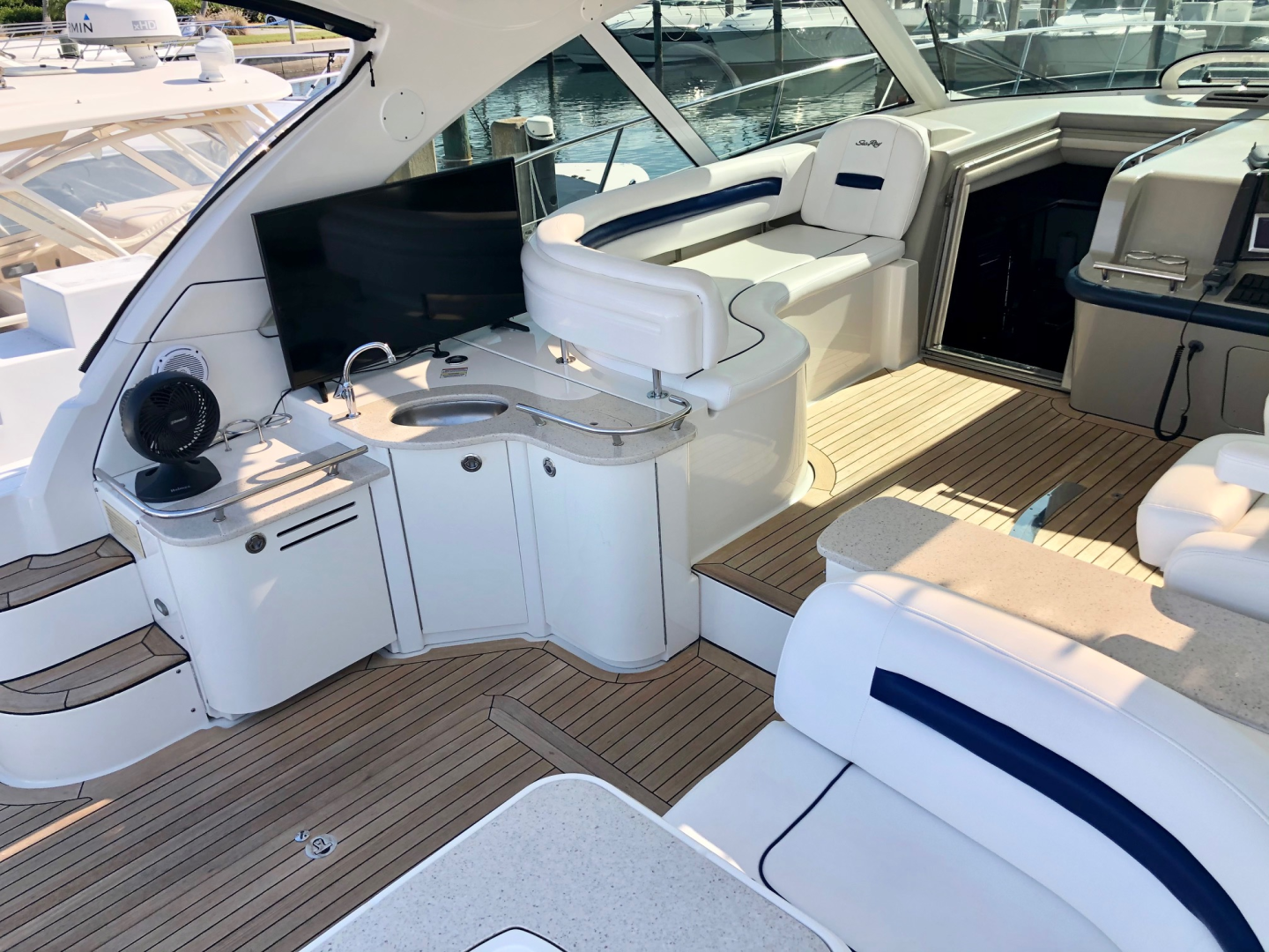 Sea Ray-48 Sundancer 2009-No Name Longboat Key-Florida-United States-2009 Sea Ray 470 Sundancer-1594859 | Thumbnail